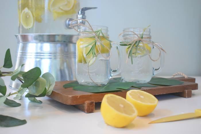 レモンウォーターの作り方