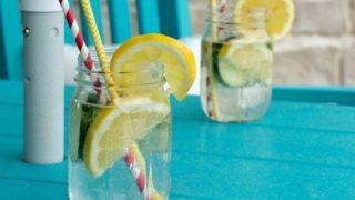 レモン水は美肌やダイエットに効果的